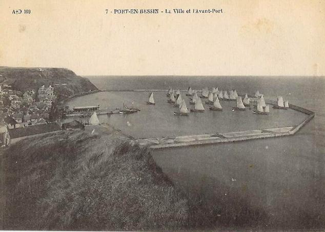 port en bessin carte postale 1 port en bessin au gr 233 des mar 233 es le