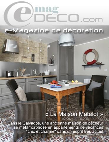 Revue de presse la maison matelot sur emag for Revue de decoration maison
