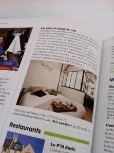 """Revue de Presse : Les locations """"Les Filles du Bord de Mer"""" (La Maison sur le Quai, Un Bateau sous mon Transat, La Maison Matelot) recommandées par MyNormandie, N°1, Printemps 2013"""